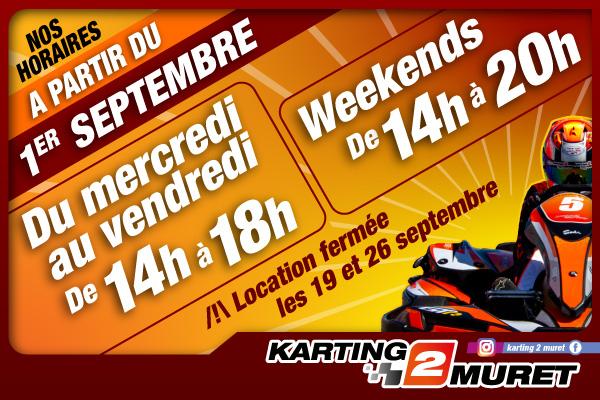 Nous vous accueillons de 14h à 18h du mercredi au vendredi et jusqu'à 20h les weekends !
