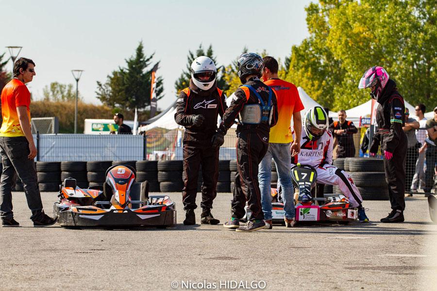 Championnat karting inter-entreprises