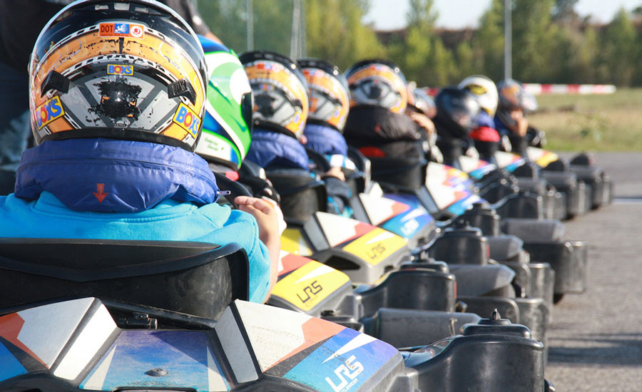 Les conditions pour conduire un kart