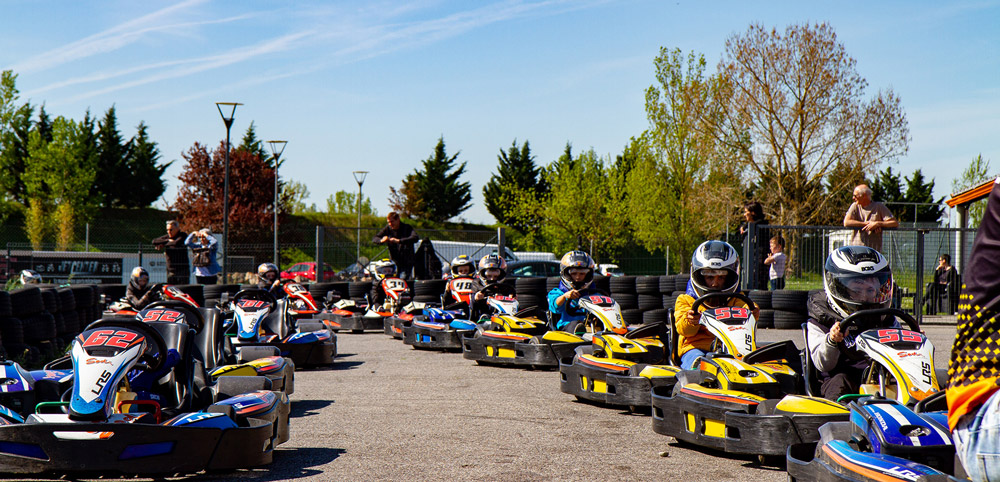 Stage de kart pour les enfants